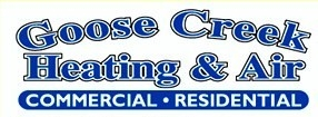 goose creek heating and air logo