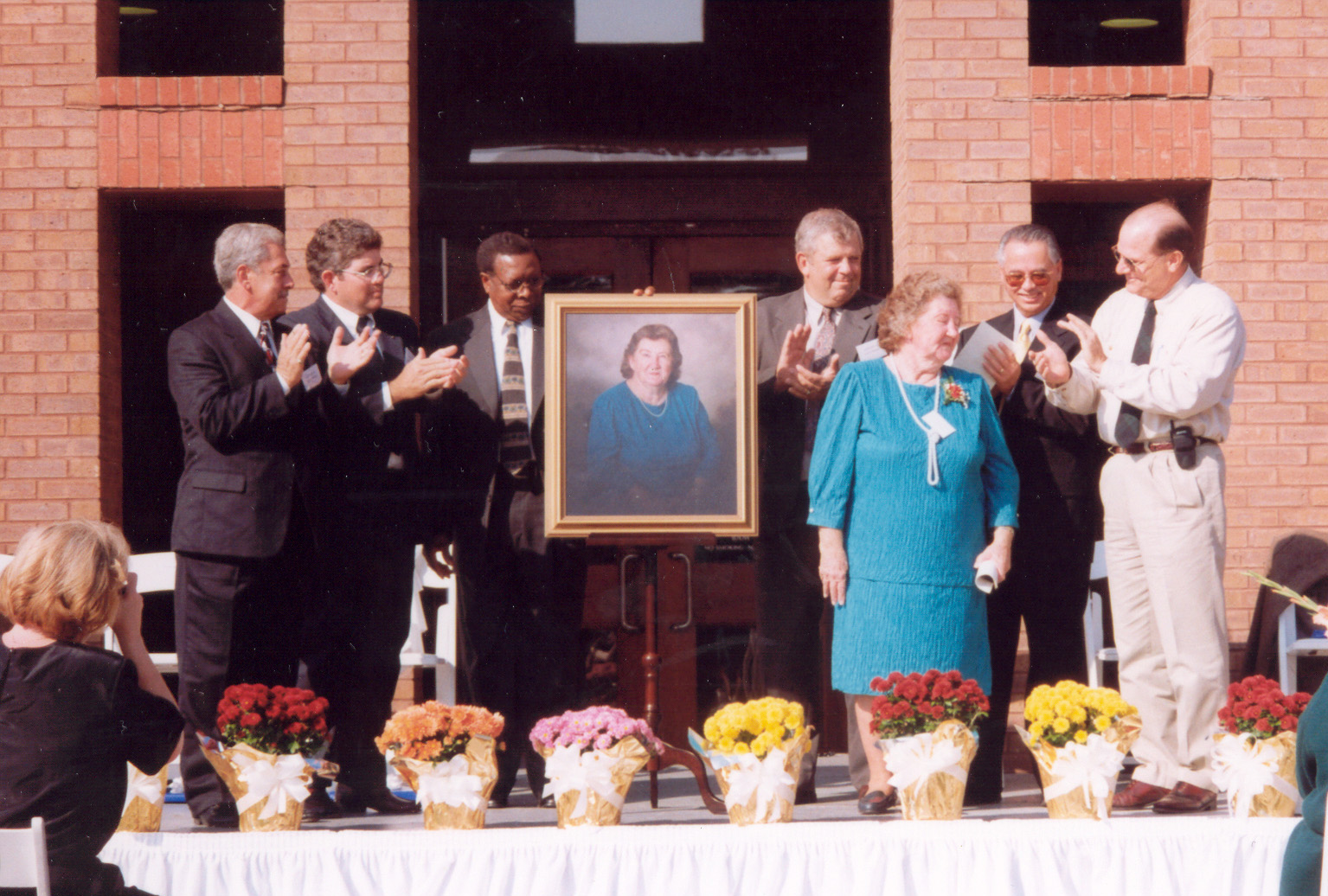 Municipal Center dedication